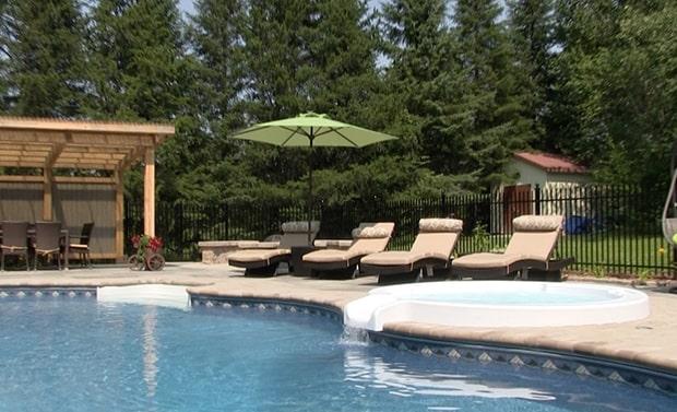 spa creusée inground hot tub piscines CR