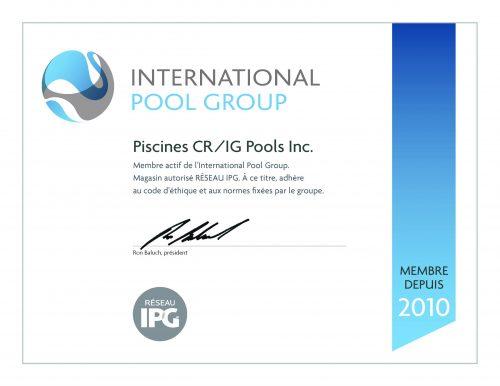 Certificat_RESEAU_IPG_Piscines CR-IG Pools Inc